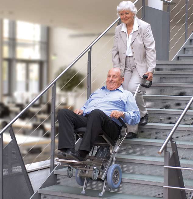 C-MaxStair climber in use