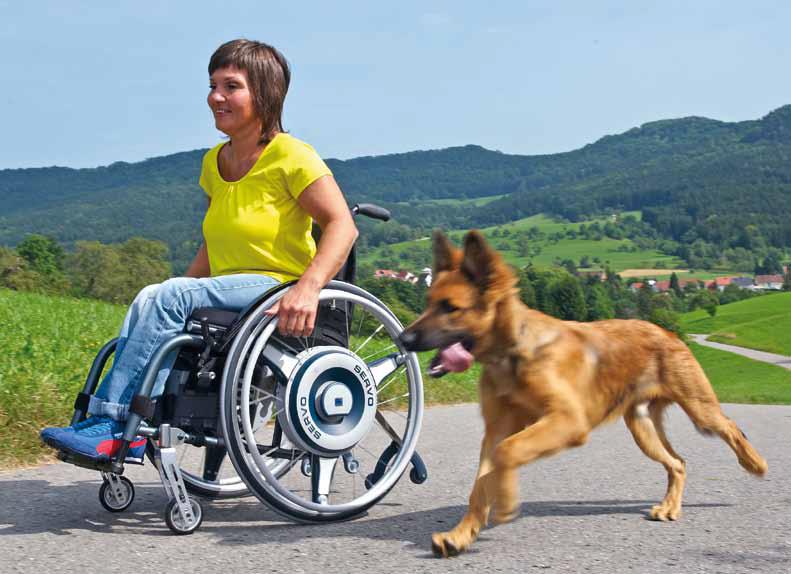 AAT Solo and Servo powered wheels