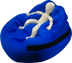 Chillibean Beanbag posture cushion