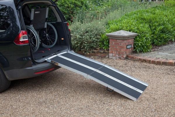 TRP Multi-fold economy wheelchair ramp