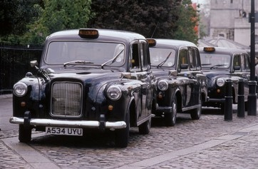 Image of black cabs
