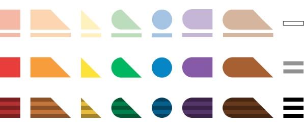 Feelipa colour palette