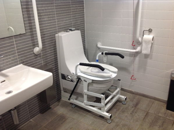 new liftseat for aquaclean shower toilet independent living. Black Bedroom Furniture Sets. Home Design Ideas