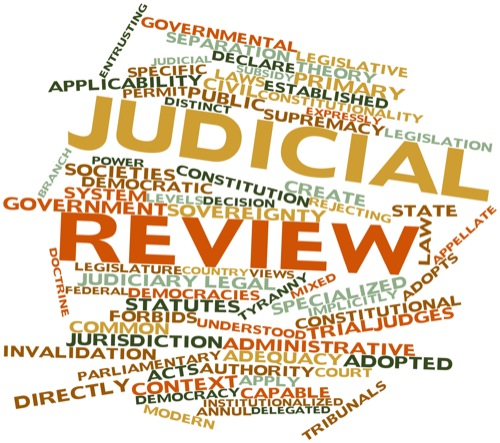 judicial review and indian courts Literally the notion of judicial review means the revision of the decree or  sentence of an inferior court by a superior court judicial review has a more  techni.