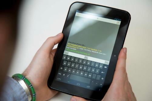 next generation text screenshot