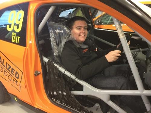Alex Tait, ambassador for The Mobility Roadshow