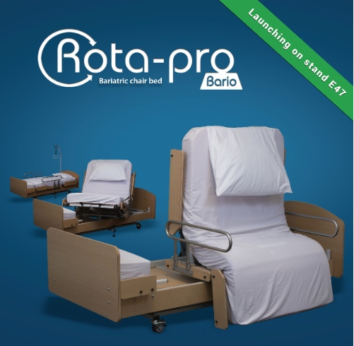 bariatric Rota Pro chair bed