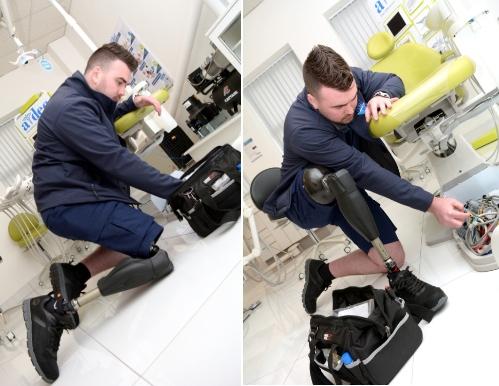 Genium X3 computer-controlled prosthetic leg