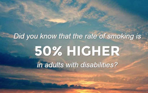 Smoking and disability
