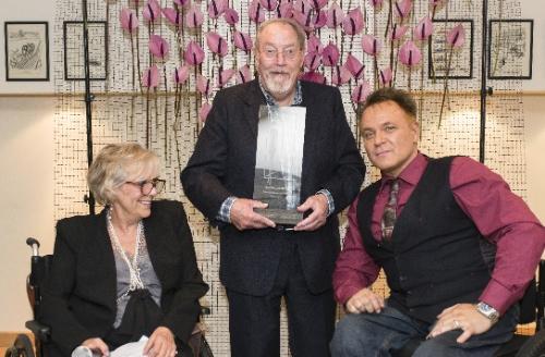 Blue Badge Style lifetime achievement award for Charlie Lyons