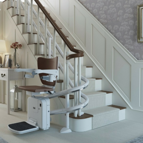 Companion Curved Stairlifts