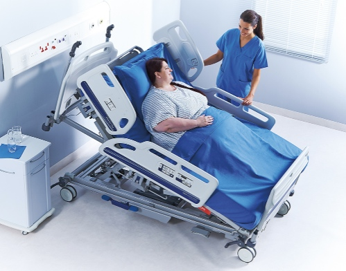 Citadel plus bariatric care bed