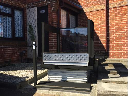 TSL 1100 bariatric step lift