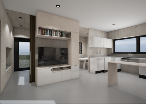 Interior design of fit homes