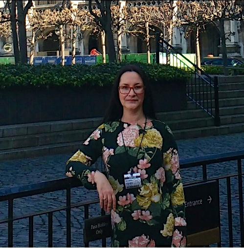 Laura Graham at Westminster