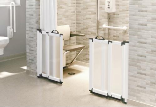 freeglide half-height shower doors