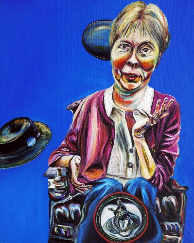 Disability arts: Baroness Campbell by Tanya Raabe Webber