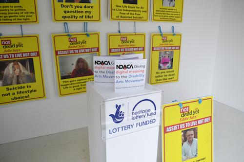 A previous NDACA display