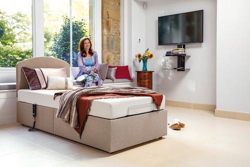 Sherborne Upholstery Regency bed