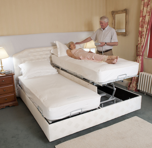 Theraposture double combination bed