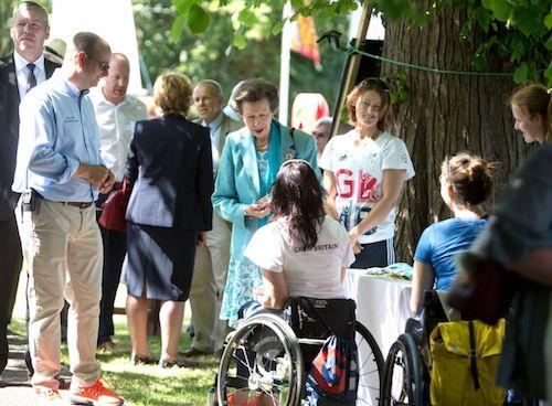 HRH The Princess Royal at Rivertime Accessible Regatta