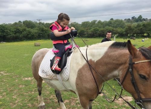 Remap saddle helps Chloe ride