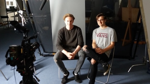 Students assist with filming history of disability arts