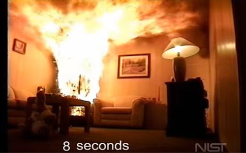Fire safety – flashover