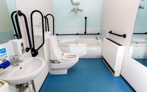 Crocus Fields' refurbished bathroom