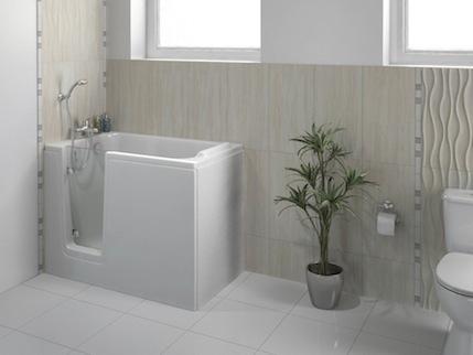 Deep soak walk-in bath from Bathe Easy