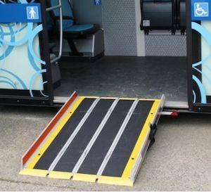Bus ramp available from Bentley Fielden