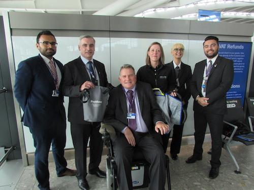 ProMove Sling - helping passengers at Heathrow