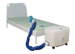 Novamed's Solaticare automatic toileting for bedridden patients