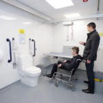 Fully accessible conveniences at Moto Southwaite